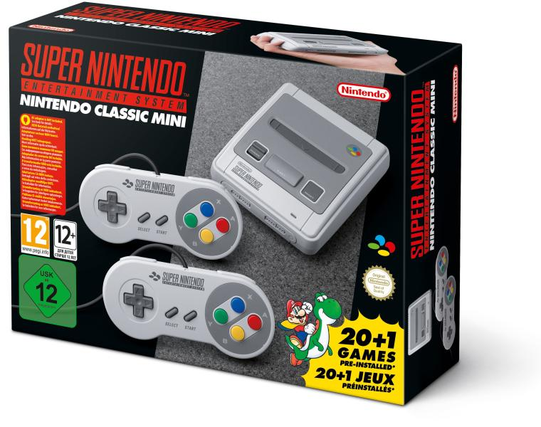 Super Nintendo Classic Mini - Nintendo Switch Gépek