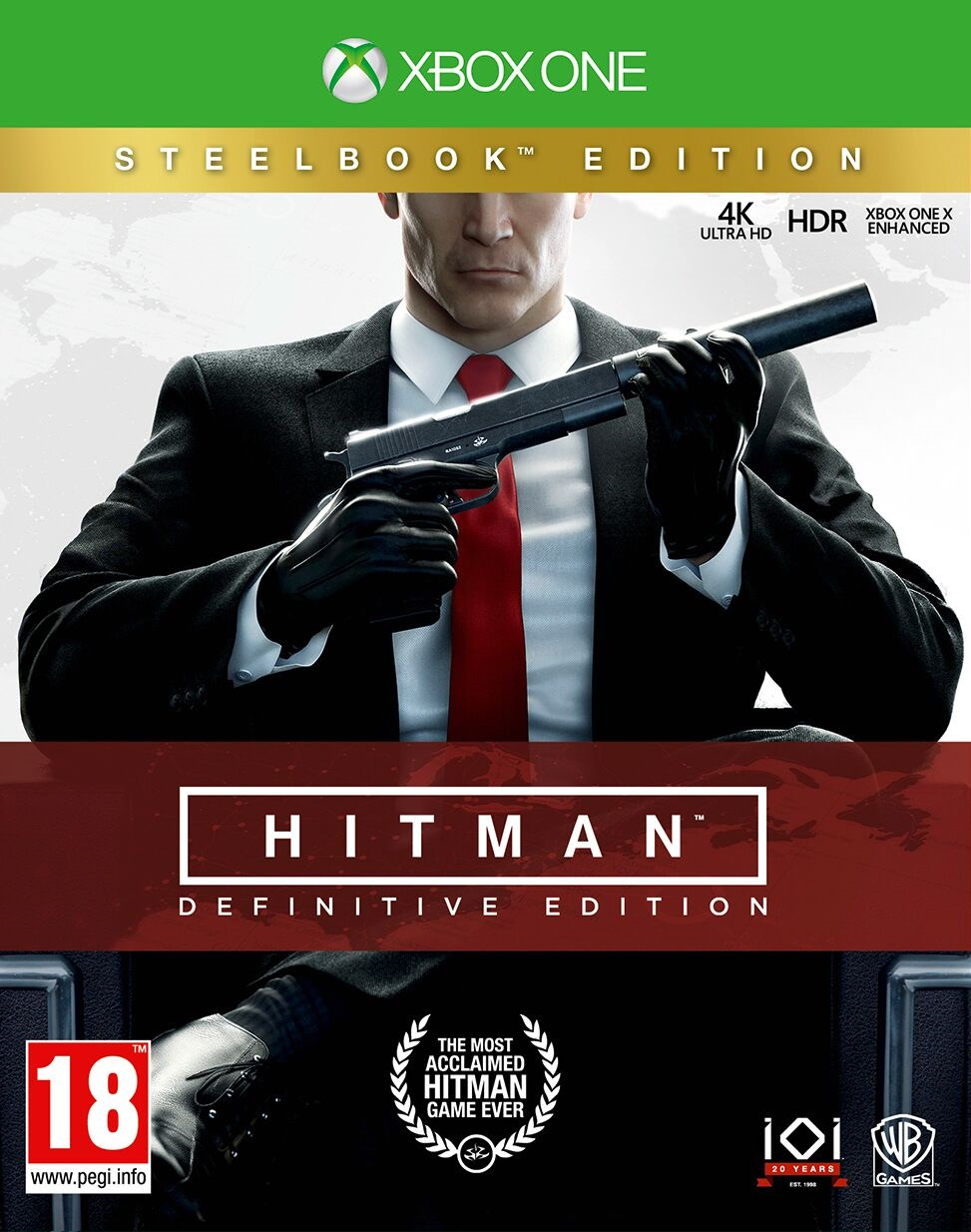 Hitman Steelbook Definitive Edition