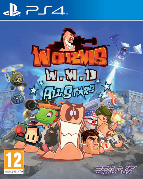 Worms W.M.D All Stars - PlayStation 4 Játékok