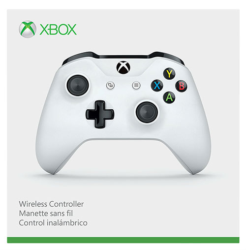 Microsoft Xbox One Wireless Controller Crete White