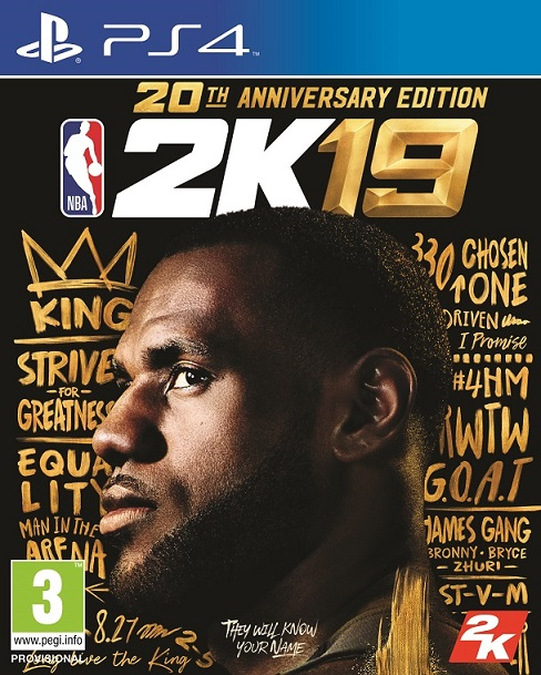 NBA 2K19 20th Anniversary Edition - PlayStation 4 Játékok