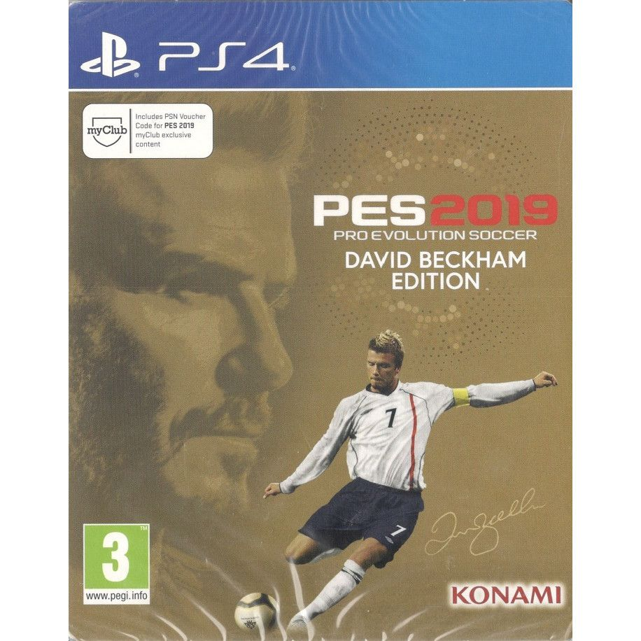 Pro Evolution Soccer 2019 (PES 19) David Beckham Steelbook Edition