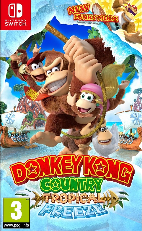 Donkey Kong: Tropical Freeze - Nintendo Switch Játékok