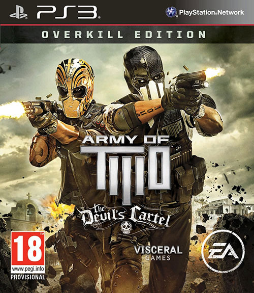 Army of Two The Devils Cartel - PlayStation 3 Játékok