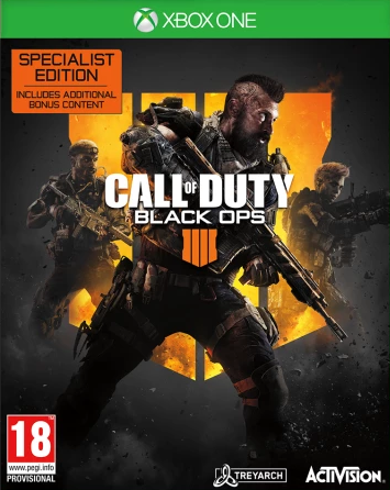 Call Of Duty: Black Ops 4 (Black Ops IIII) Specialist Edition