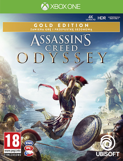 Assassins Creed Odyssey Gold Edition - Xbox One Játékok