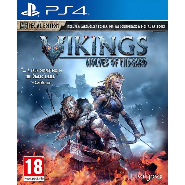 Vikings Wolves Of Midgard - PlayStation 4 Játékok