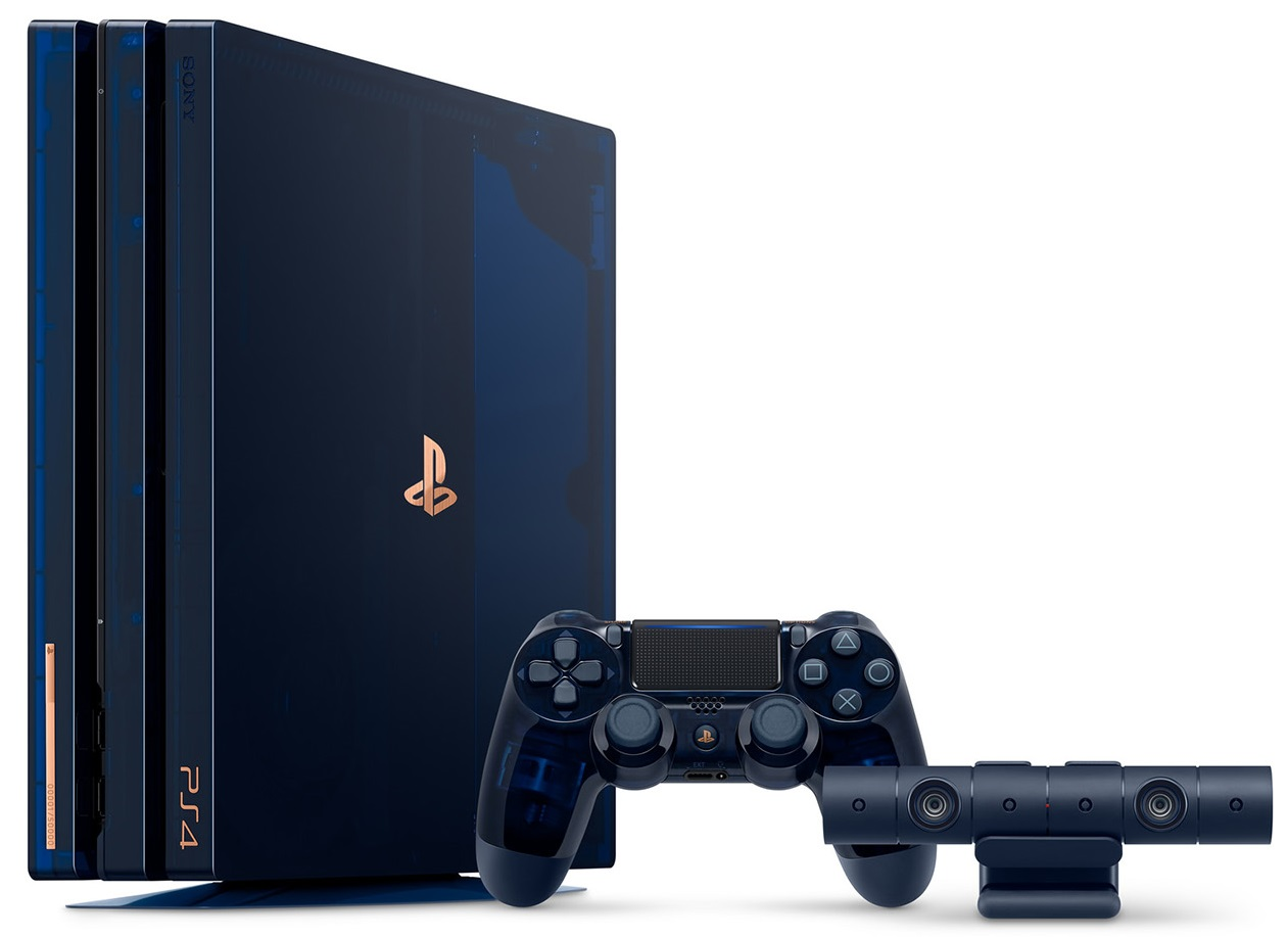 Sony Playstation 4 Pro 2TB 500M Limited Edition