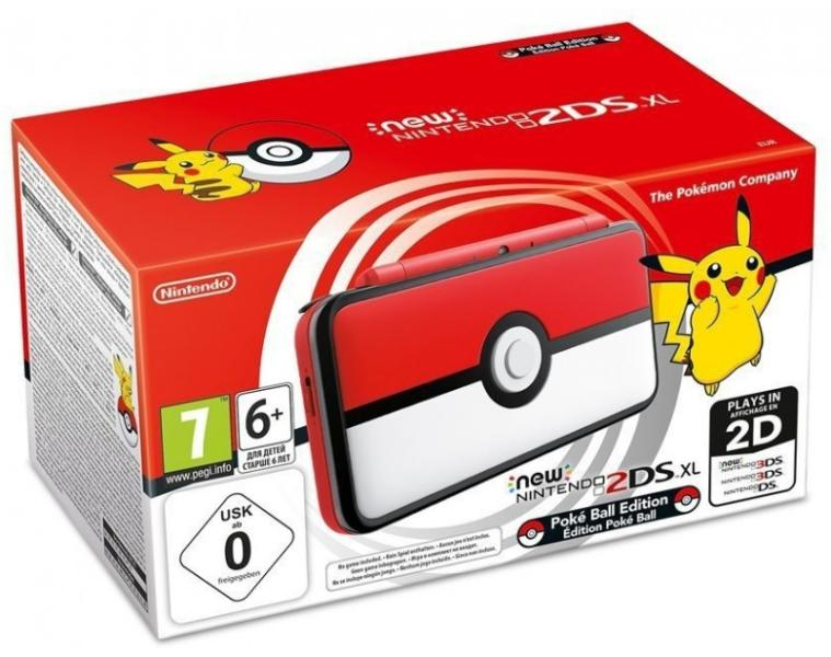 Nintendo New 2DS XL Pokéball Edition - Nintendo Switch Gépek