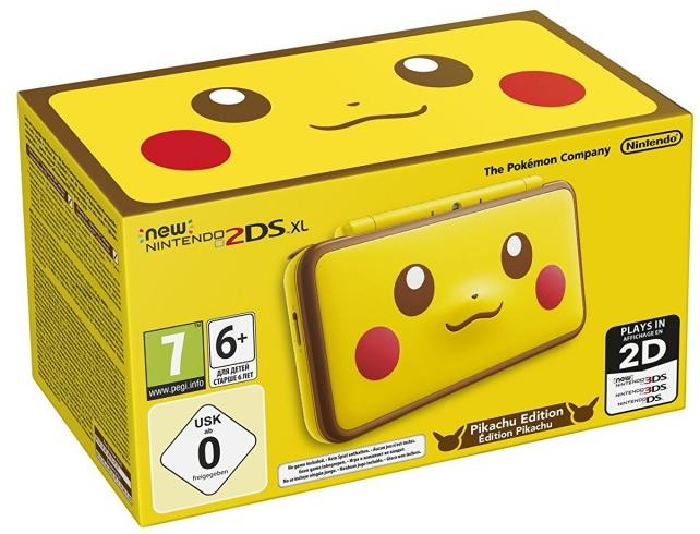Nintendo New 2DS XL Pikachu Edition  - Nintendo Switch Gépek