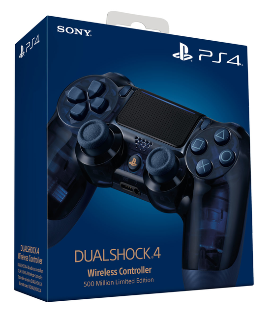 Sony Playstation 4 Dualshock 4 V2 Controller 500 million Limited Edition