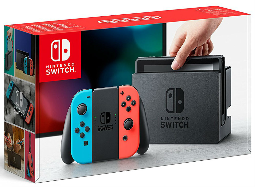 NINTENDO Switch Neon Red / Neon Blue