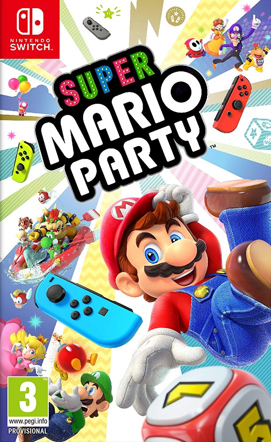Super Mario Party - Nintendo Switch Játékok