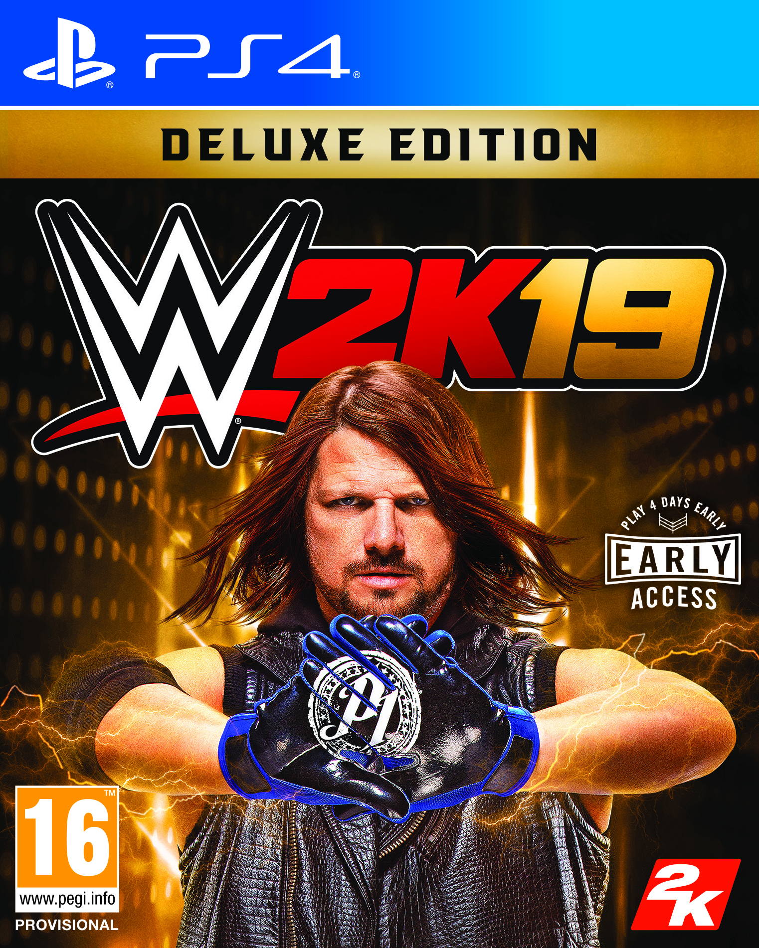 WWE 2K19 Deluxe Edition - PlayStation 4 Játékok