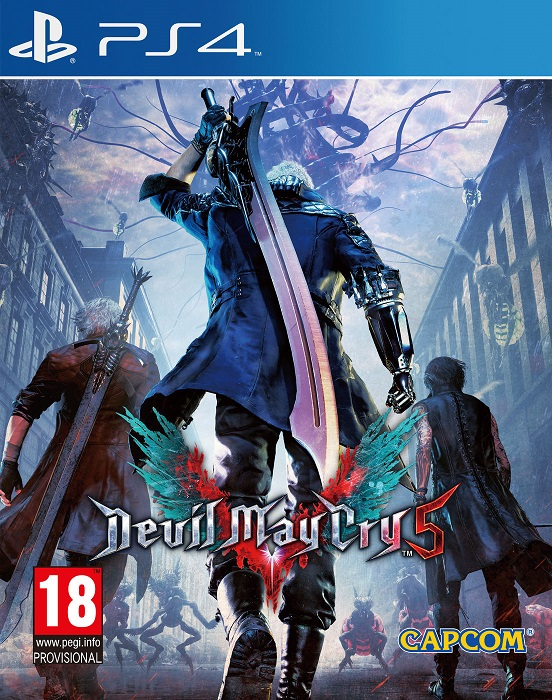 Devil May Cry 5 - PlayStation 4 Játékok