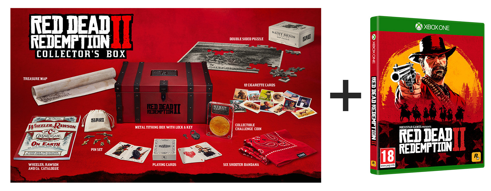 Red Dead Redemption 2 Collectors Edition Xbox One