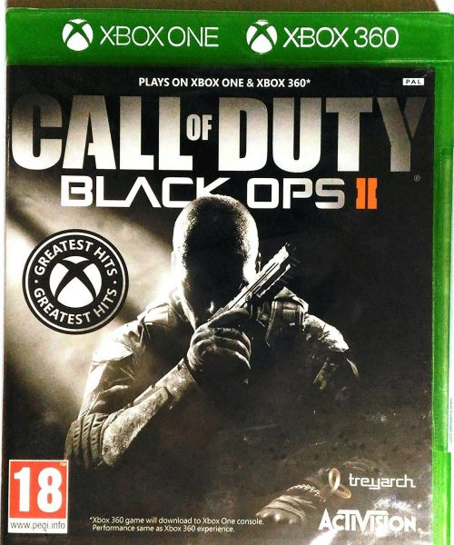 Call Of Duty Black Ops II - Xbox One Játékok