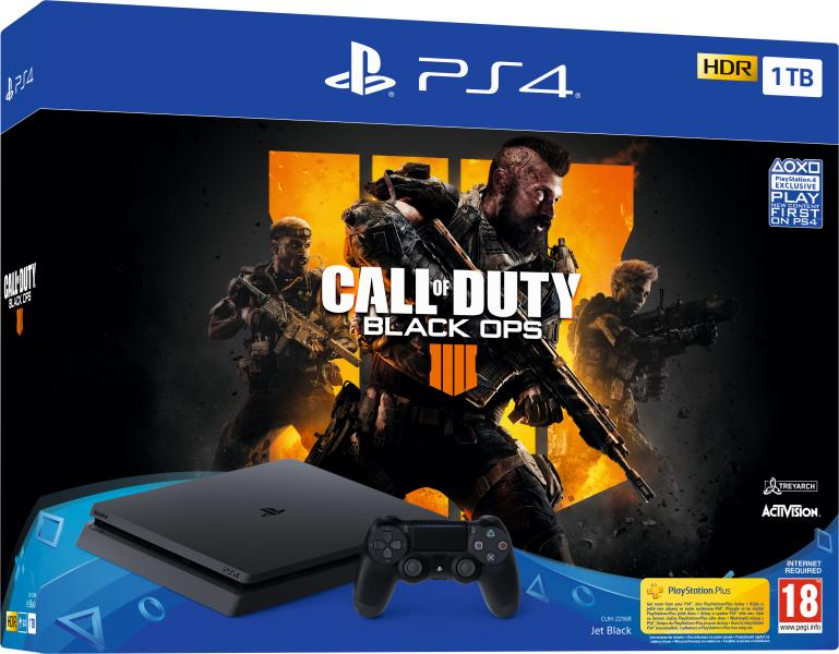Sony PlayStation 4 Slim 1TB Call of Duty Black Ops 4 (Black Ops IIII) Bundle