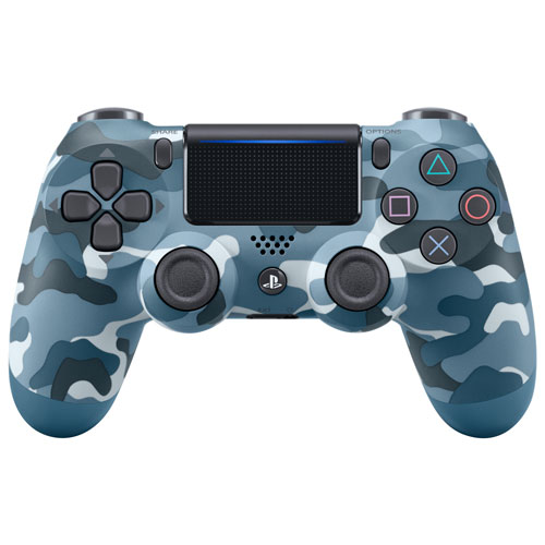 Dualshock 4 Wireless Controller Blue Camouflage