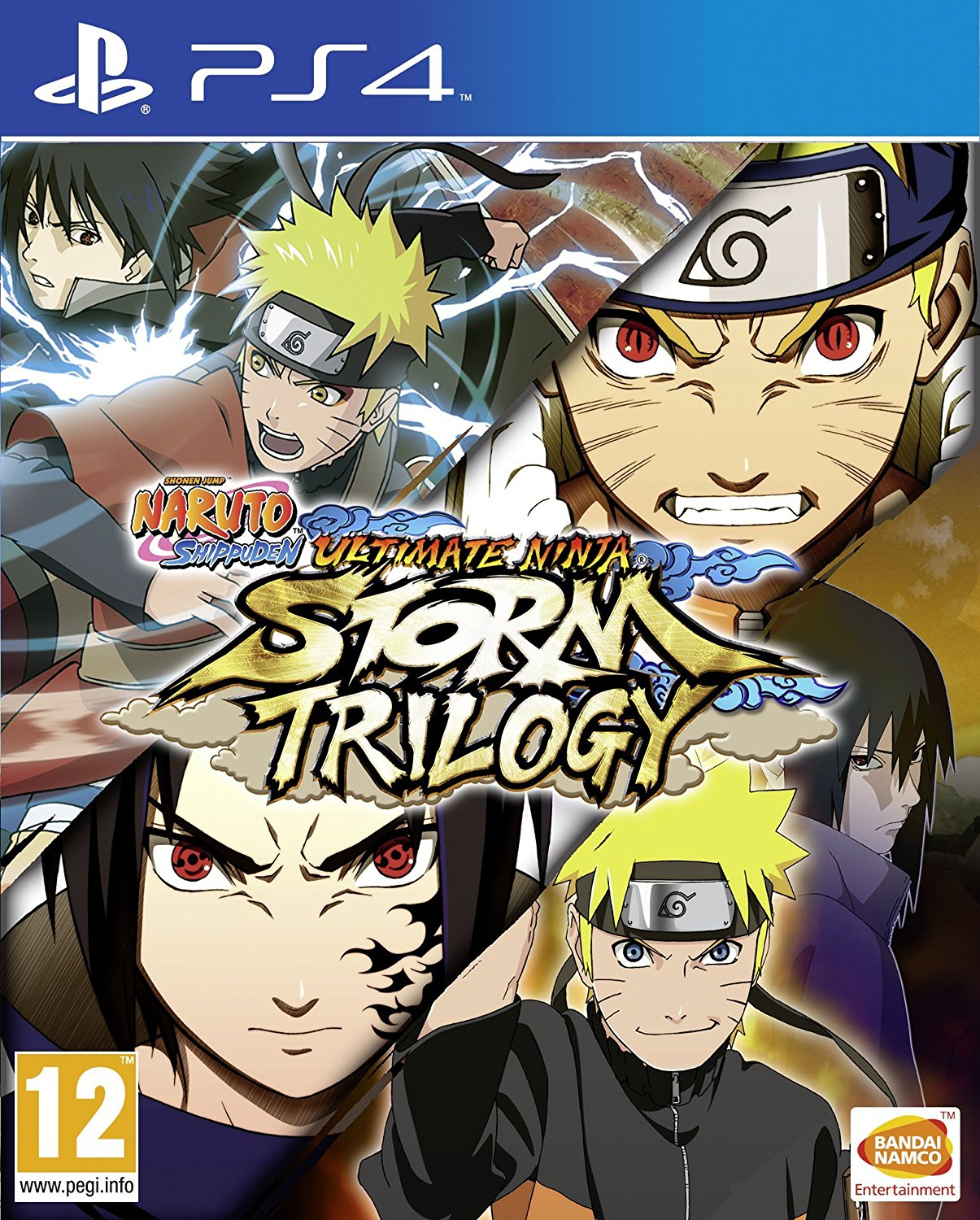 Naruto Shippuden: Ultimate Ninja Storm Trilogy - PlayStation 4 Játékok