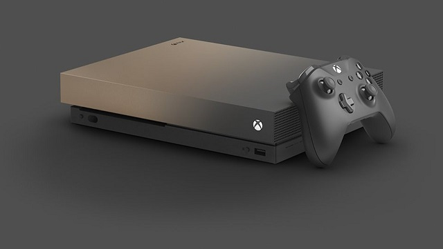 Microsoft Xbox One X 1TB Gold Rush Special Edition