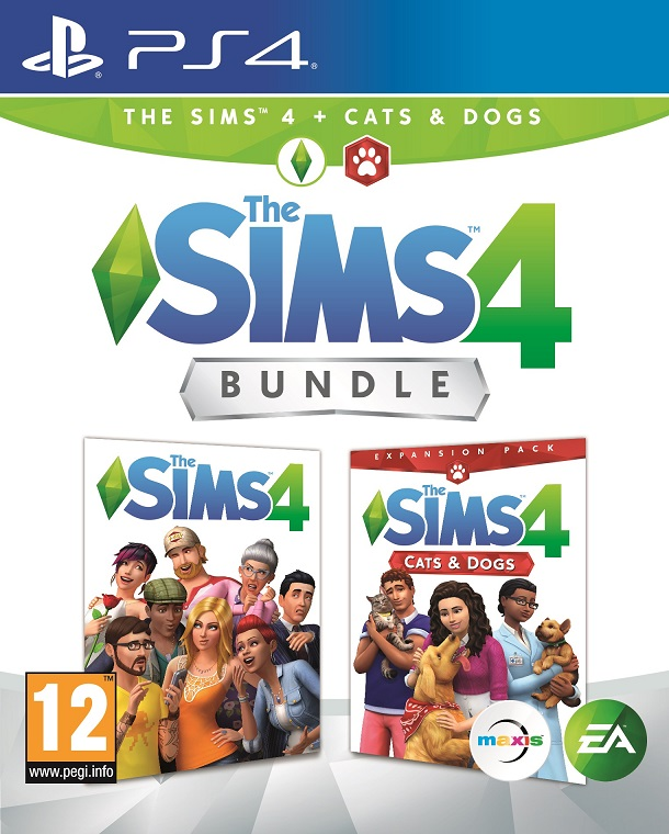 The Sims 4 + The Sims 4: Cats and Dogs - PlayStation 4 Játékok