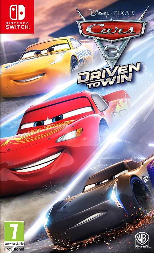Disney Pixar Cars 3 Driven To Win - Nintendo Switch Játékok