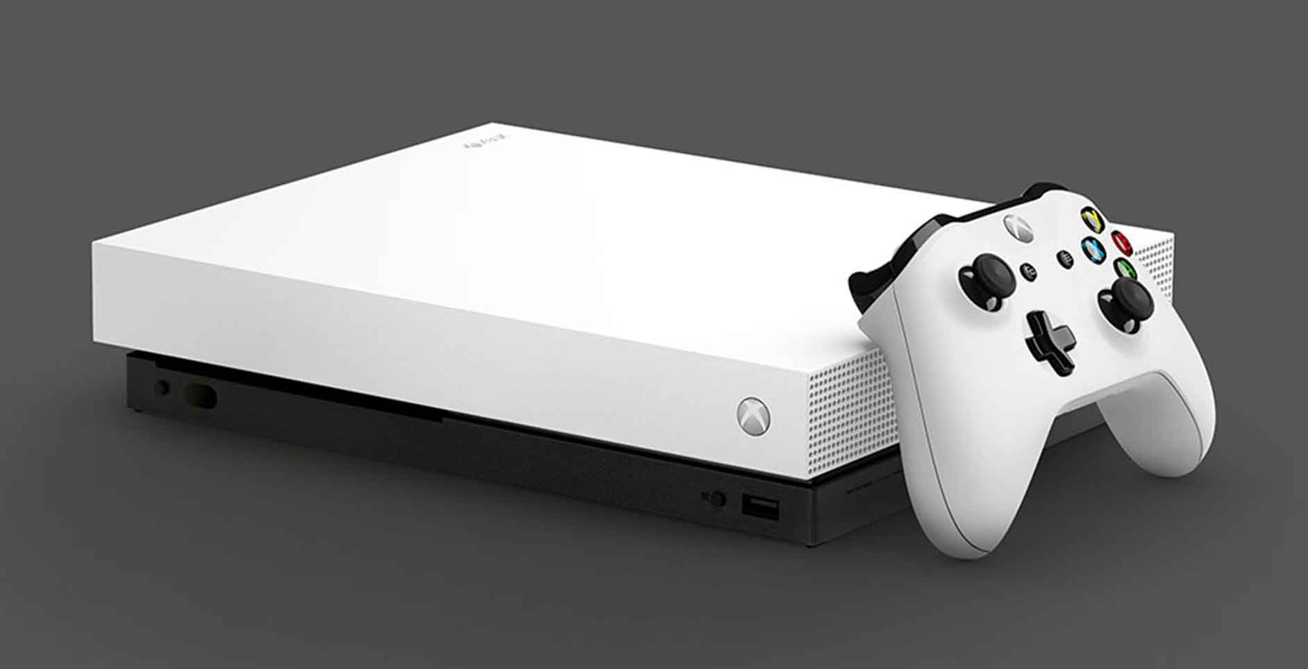 Microsoft Xbox One X 1TB Robot White Special Edition
