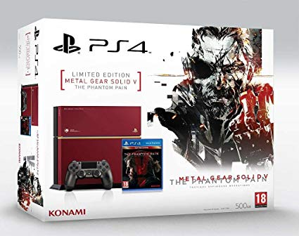 Sony Playstation 4 500Gb Metal Gear Solid Phantom Pain Limited Edition - PlayStation 4 Gépek