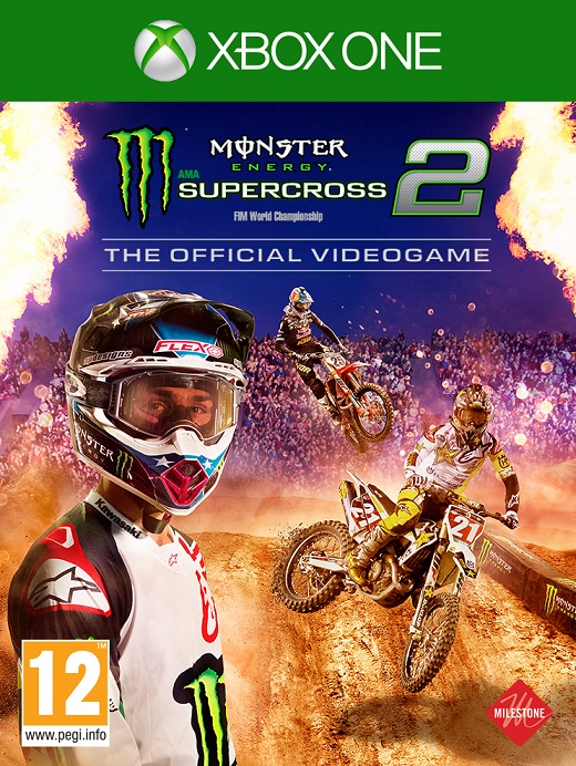 Monster Energy Supercross 2 - The Official Videogame - Xbox One Játékok