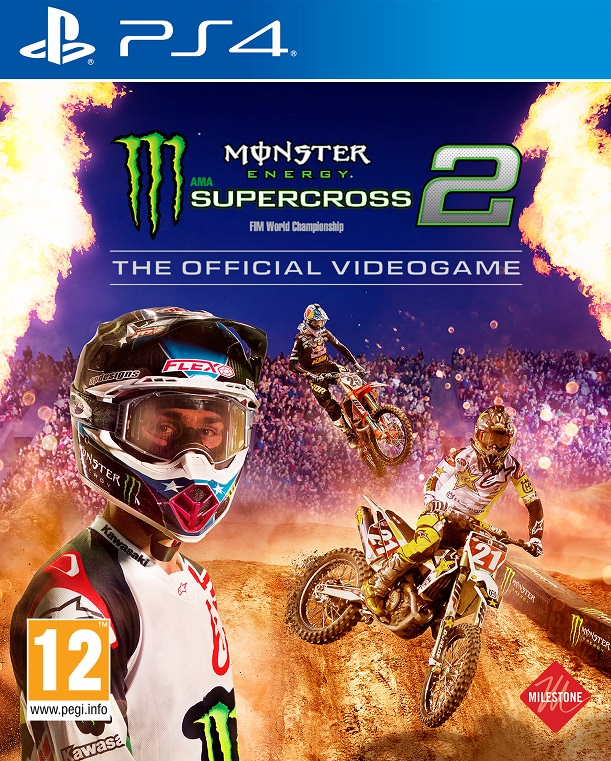 Monster Energy Supercross 2 - The Official Videogame - PlayStation 4 Játékok