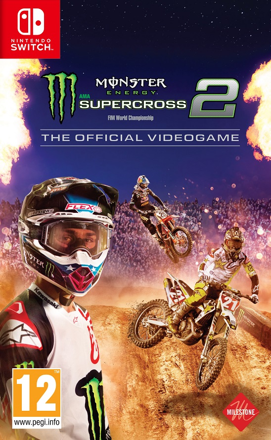 Monster Energy Supercross 2 - The Official Videogame - Nintendo Switch Játékok