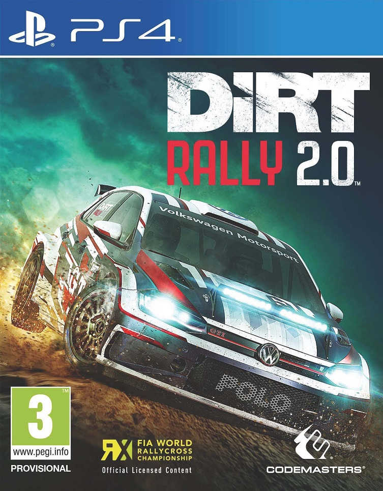 Dirt Rally 2.0 - PlayStation 4 Játékok