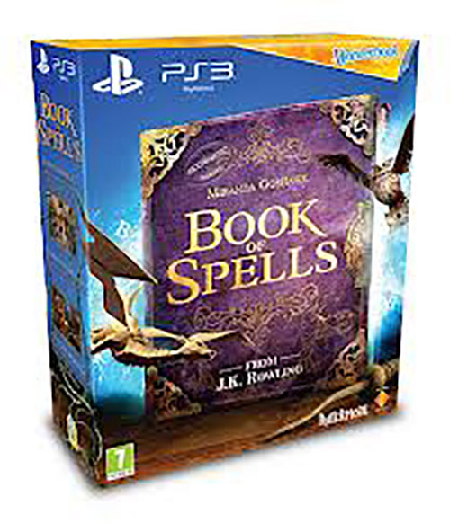 Wonderbook:Book Of Spells - PlayStation 3 Játékok