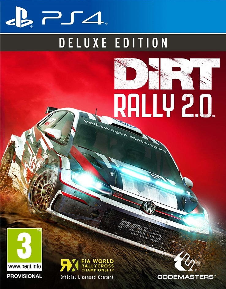 Dirt Rally 2.0 Deluxe Edition - PlayStation 4 Játékok