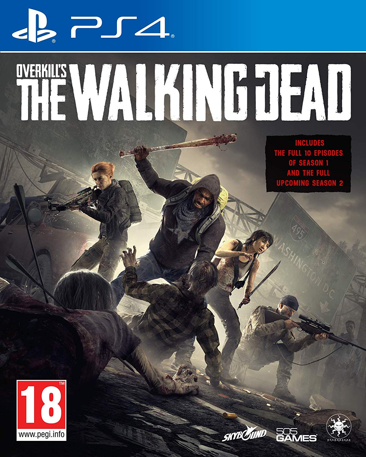Overkills The Walking Dead - PlayStation 4 Játékok