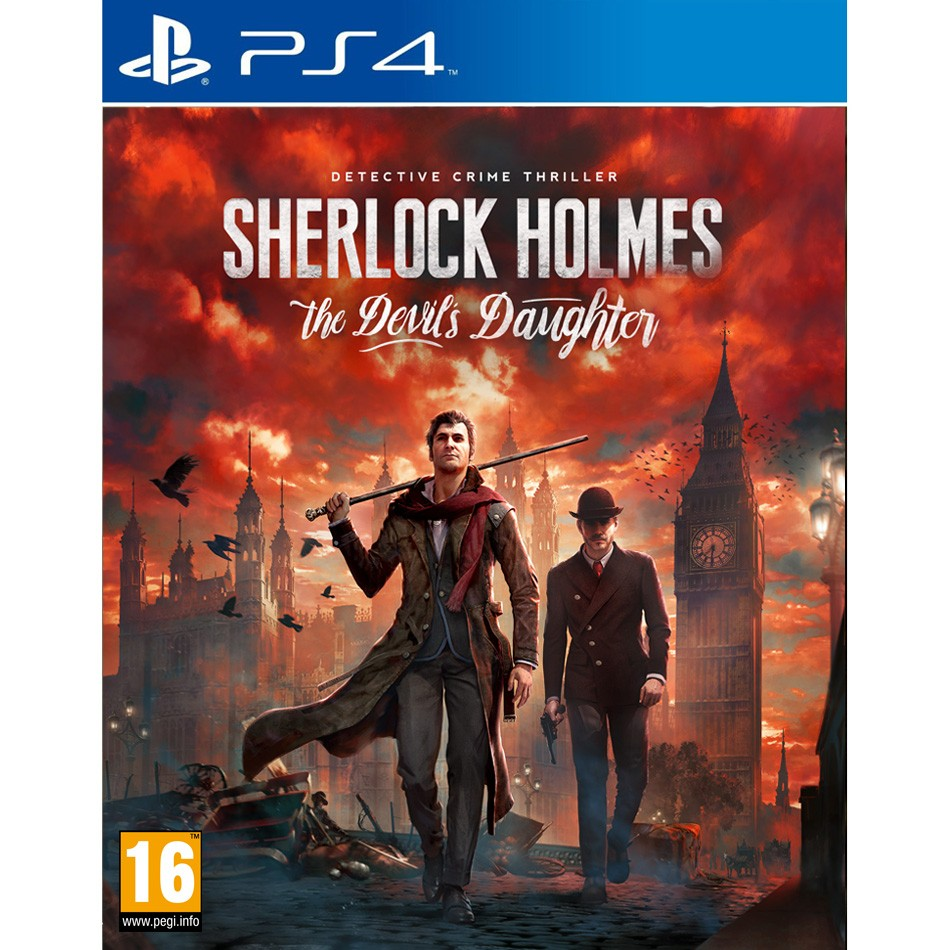 Sherlock Holmes the Devils Daughter  - PlayStation 4 Játékok