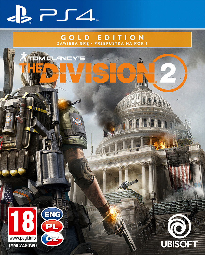 Tom Clancys The Division 2 Gold Edition - PlayStation 4 Játékok