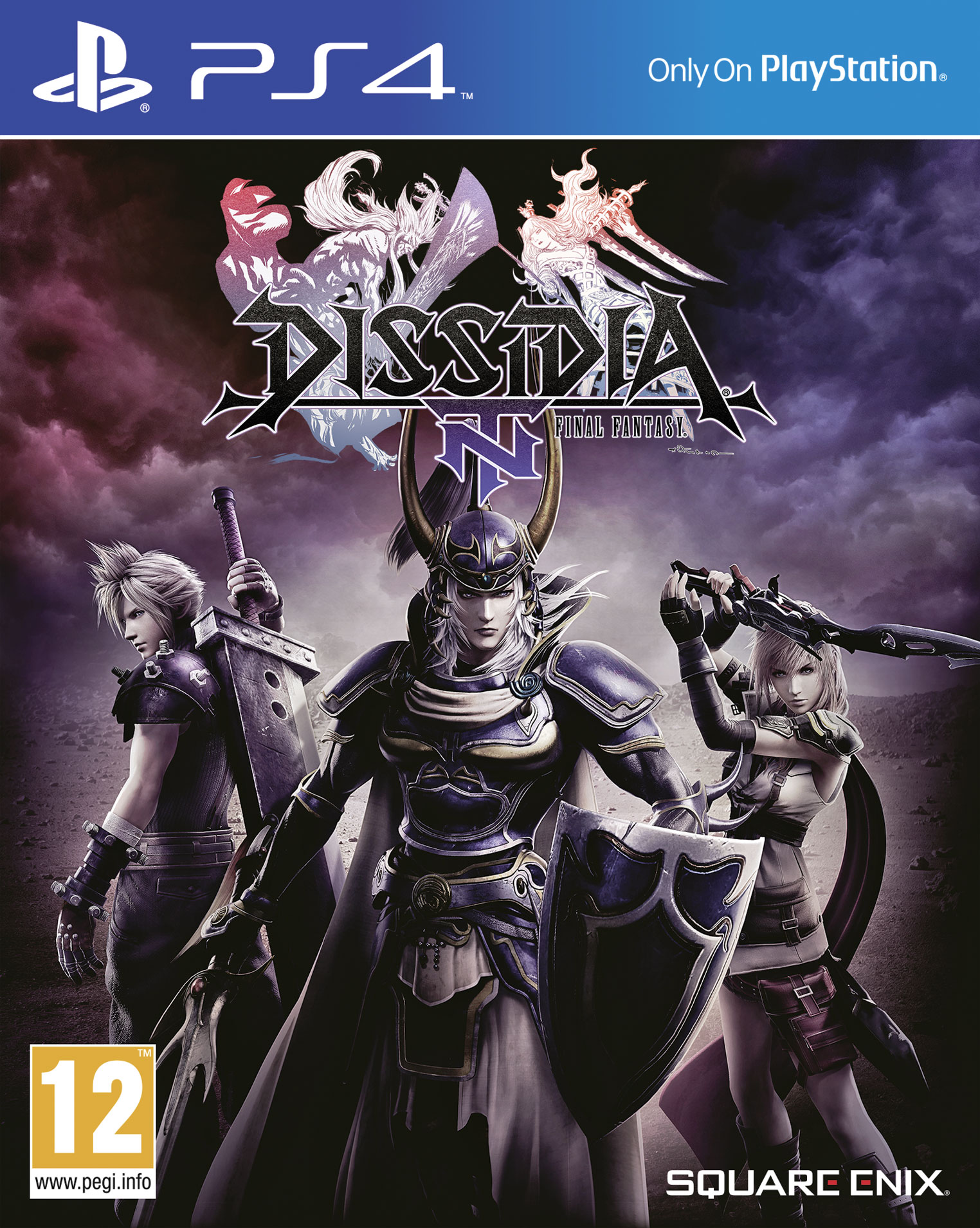 Dissidia Final Fantasy NT (Steelbook) - PlayStation 4 Játékok