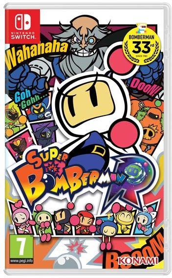 Super Bomberman R - Nintendo Switch Játékok