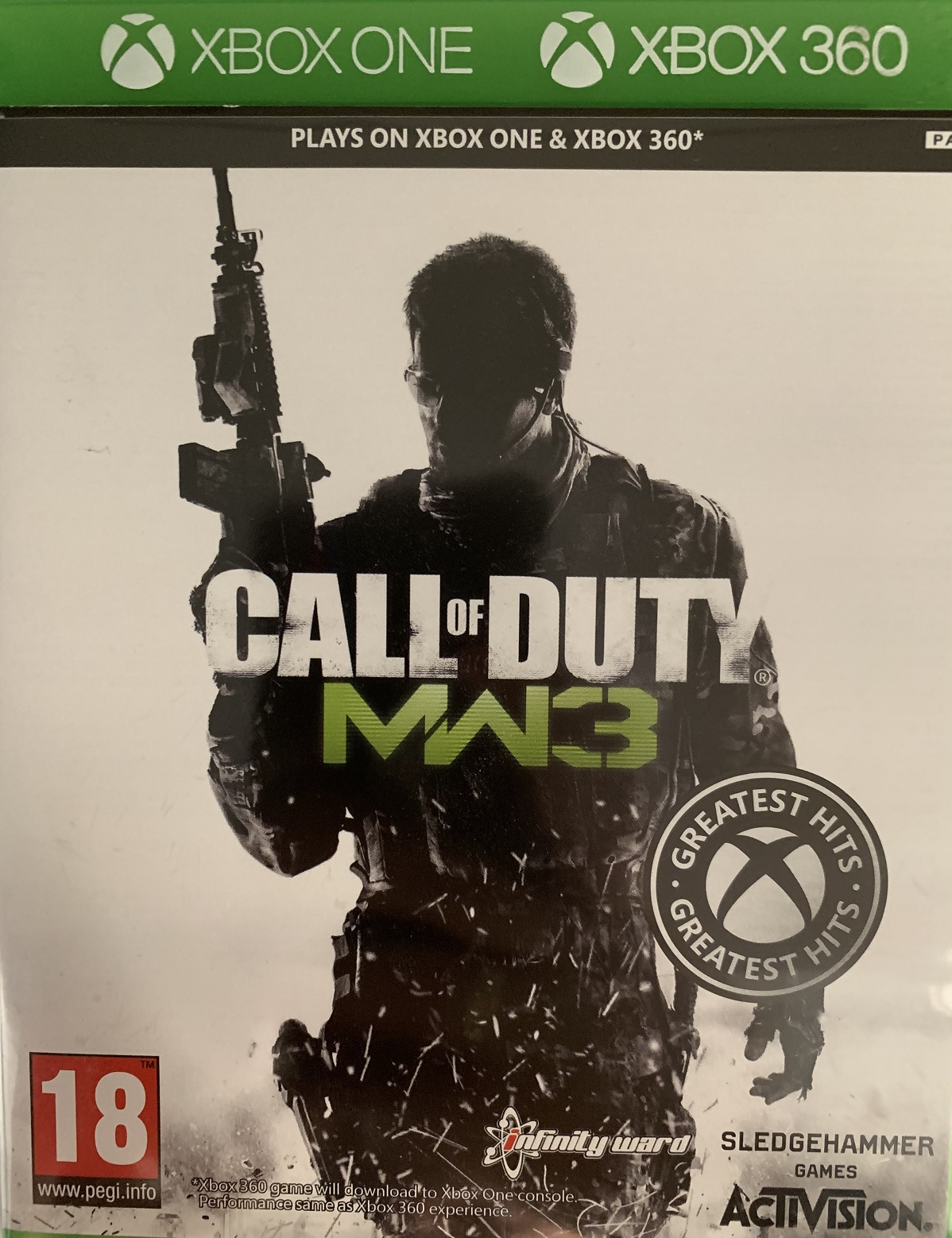 Call of Duty Modern Warfare 3 - Xbox One Játékok