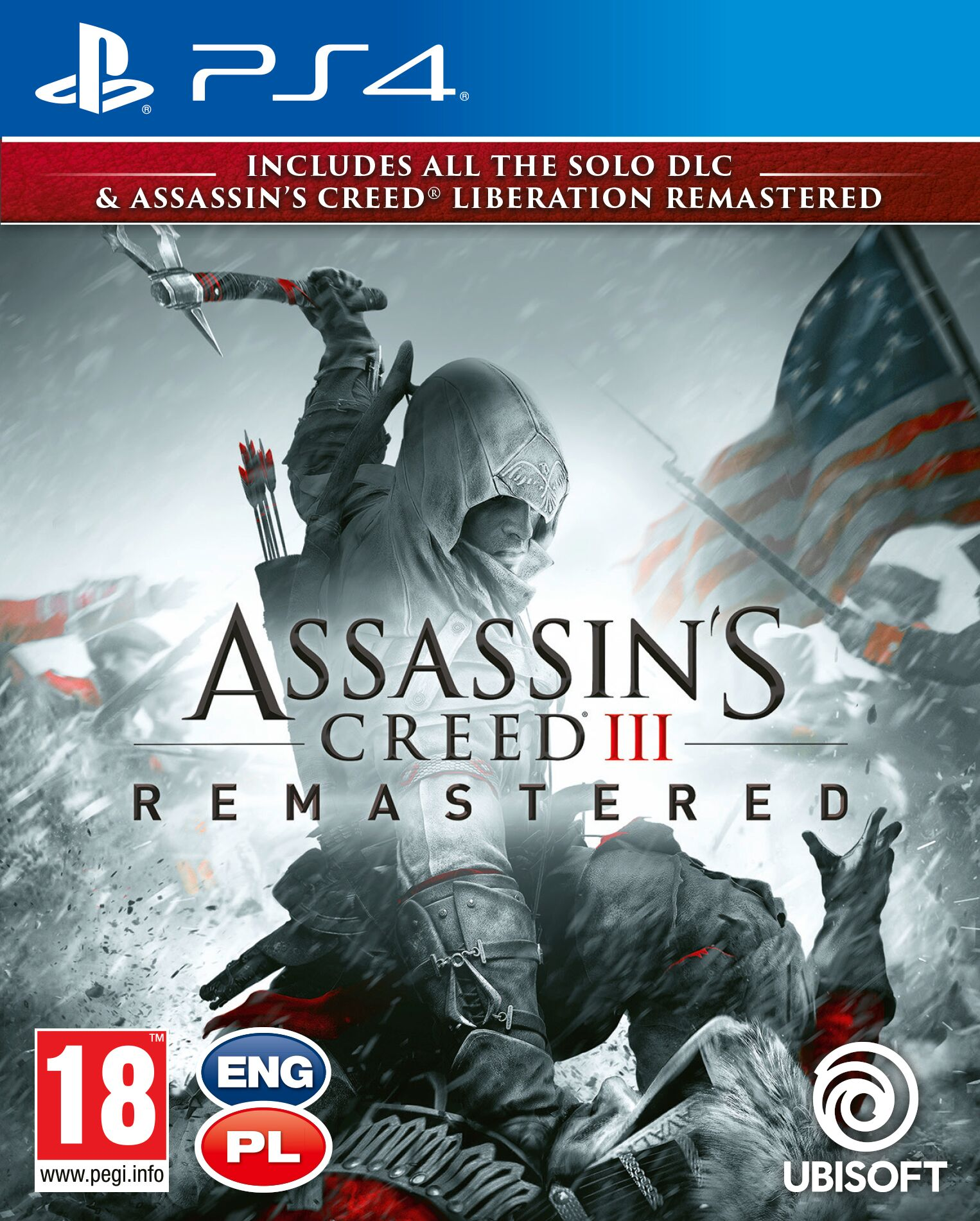 Assassins Creed III Remastered  - PlayStation 4 Játékok