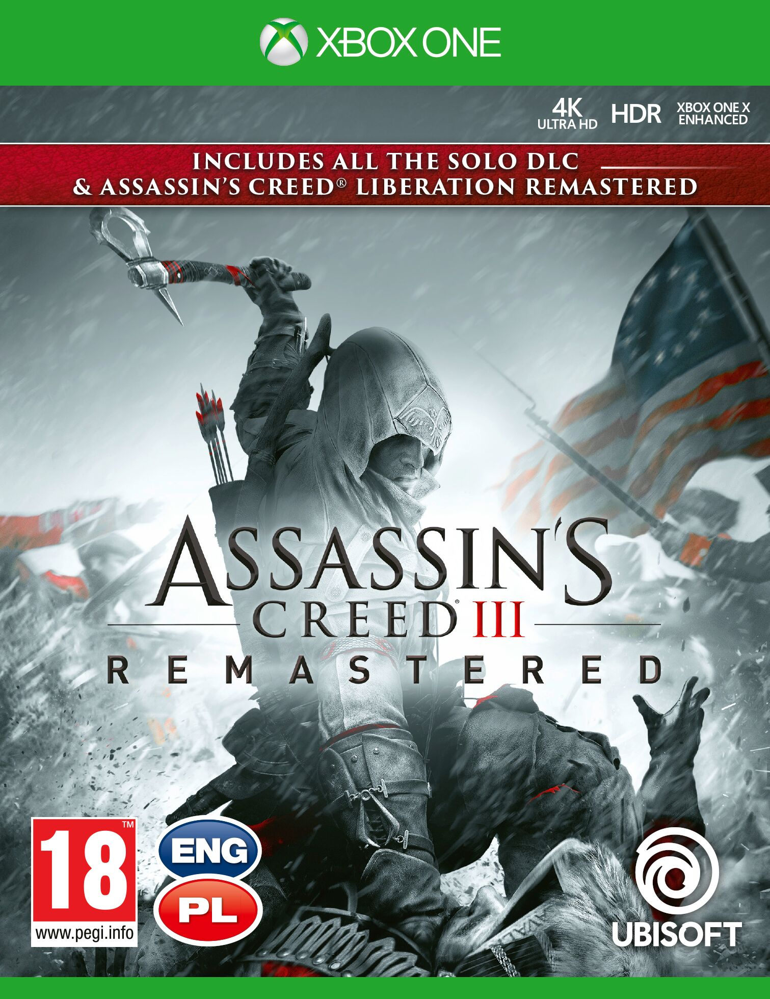 Assassins Creed III Remastered - Xbox One Játékok