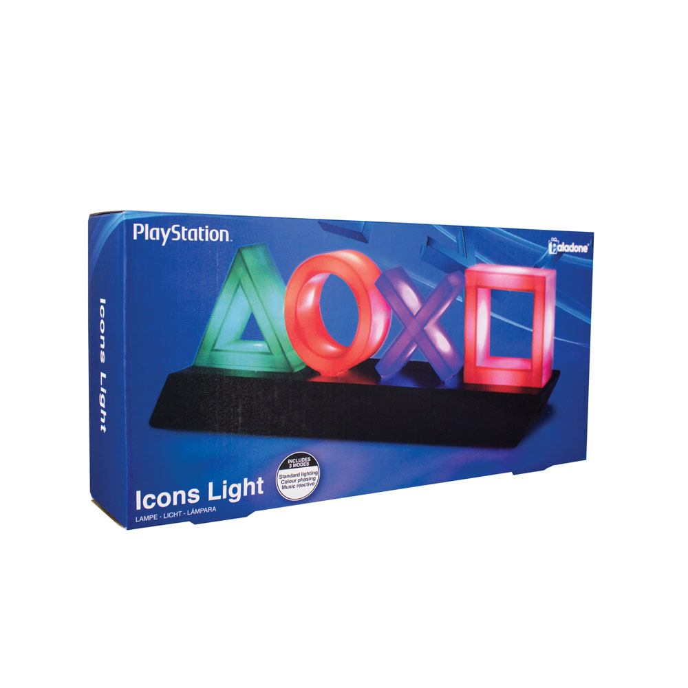 Sony Playstation Icons Light (Lámpa) - PlayStation 4 Kiegészítők