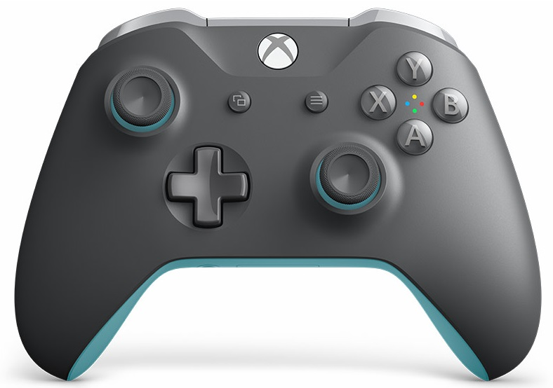 Microsoft Xbox One Wireless Controller Grey / Blue