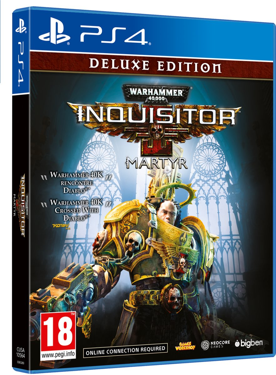 Warhammer 40,000: Inquisitor - Martyr Deluxe Edition