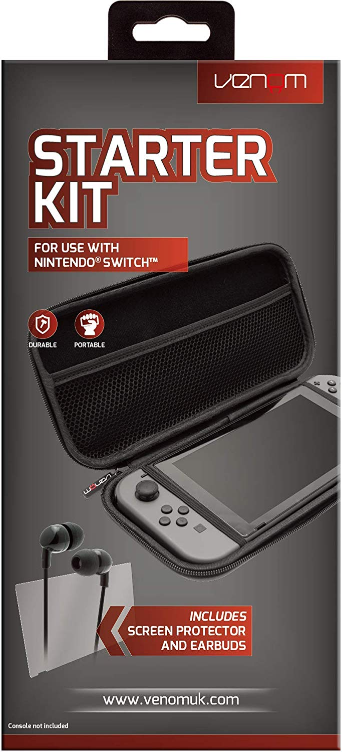 Venom Nintendo Switch Starter Kit (VS4793) - Nintendo Switch Kiegészítők