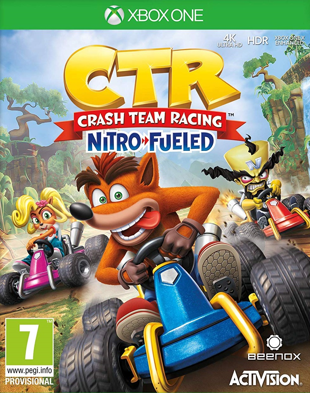 Crash Team Racing Nitro-Fueled - Xbox One Játékok