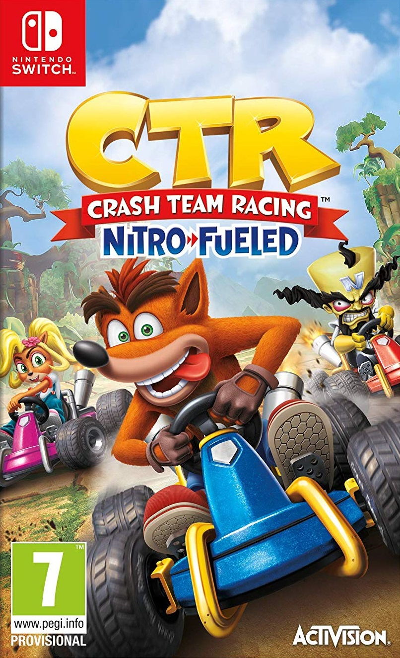 Crash Team Racing Nitro-Fueled - Nintendo Switch Játékok