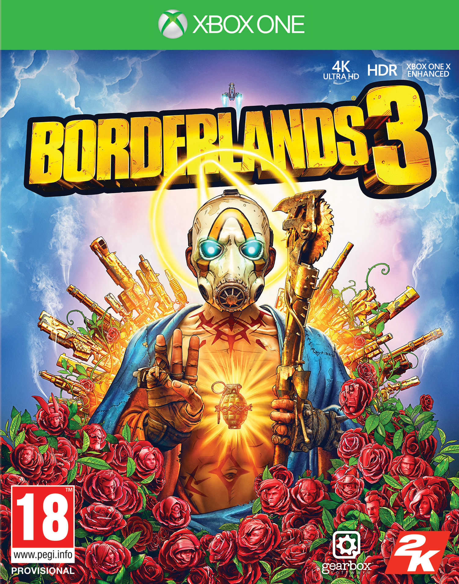 Borderlands 3 - Xbox One Játékok